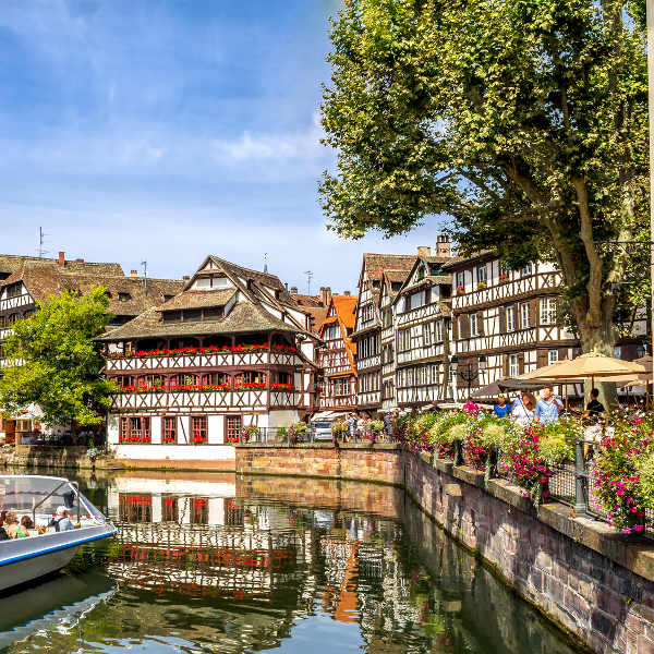 strasbourg restaurants besides river