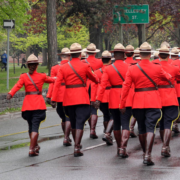 Mounties Training RCMP Regina