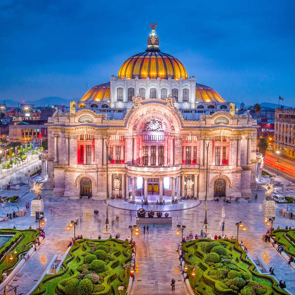 Fine Arts Palace Mexico City