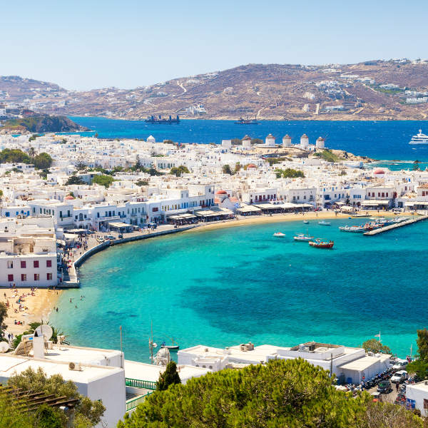 mykonos beautiful landscapes