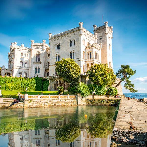 trieste miramare castle gulf of trieste
