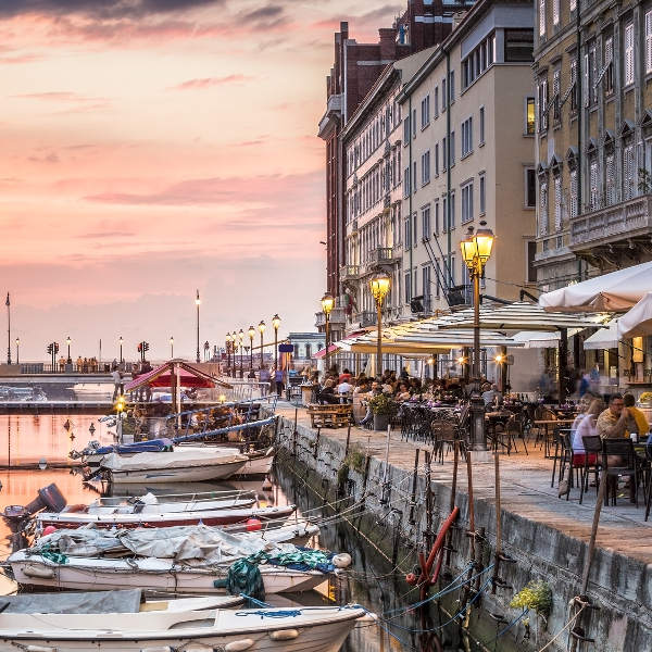 trieste grand canal restaurants