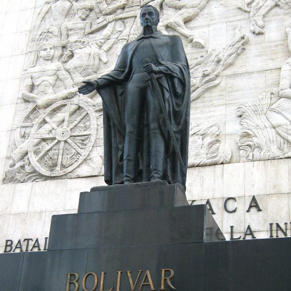 caracas simon bolivar monument