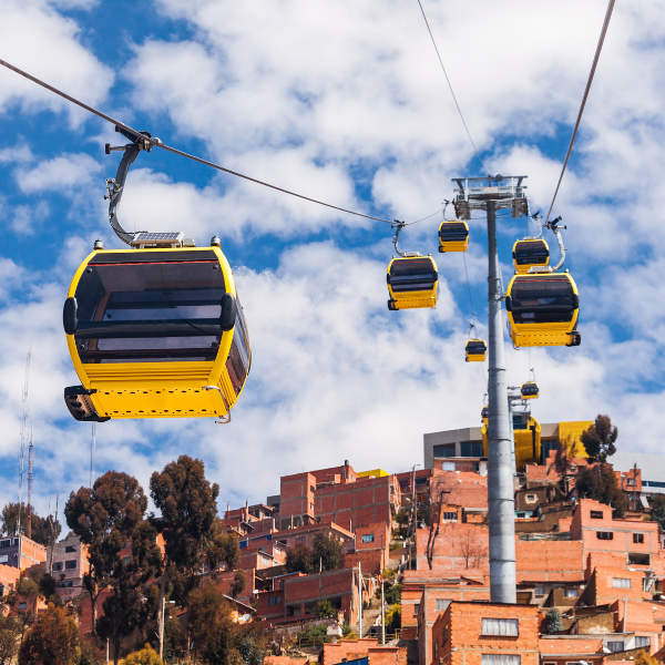 yelow cable car