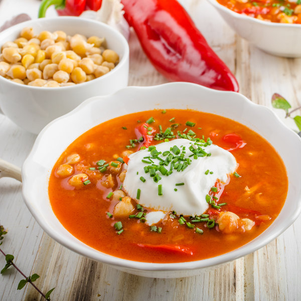 chickpea chili soup