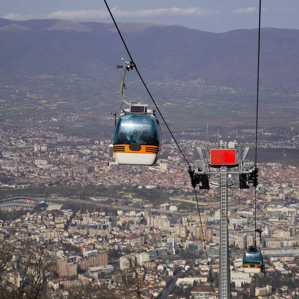 Cable Car over Skopje