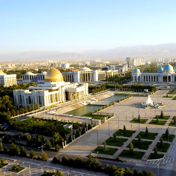 ashgabat city of marble