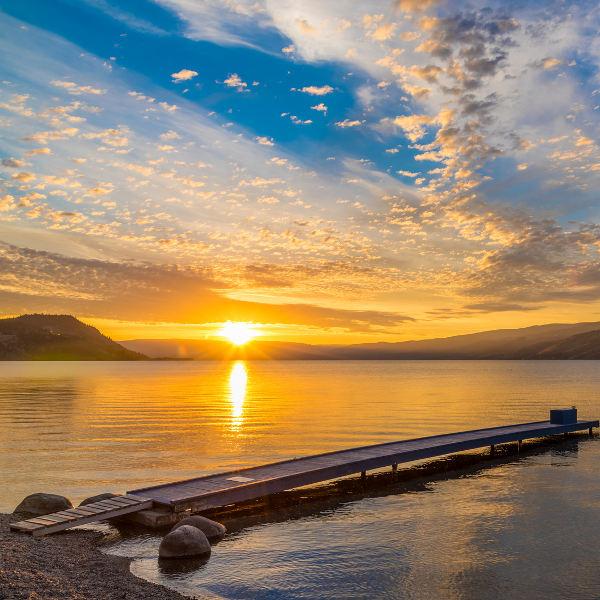 Okanagan Lake Kelowa