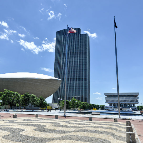 Empire State Plaza Egg Albany