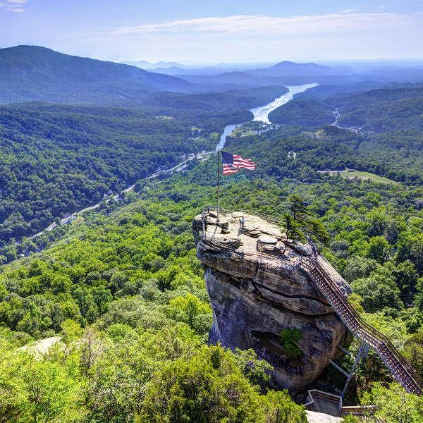 Chimney Rock State Park Asheville