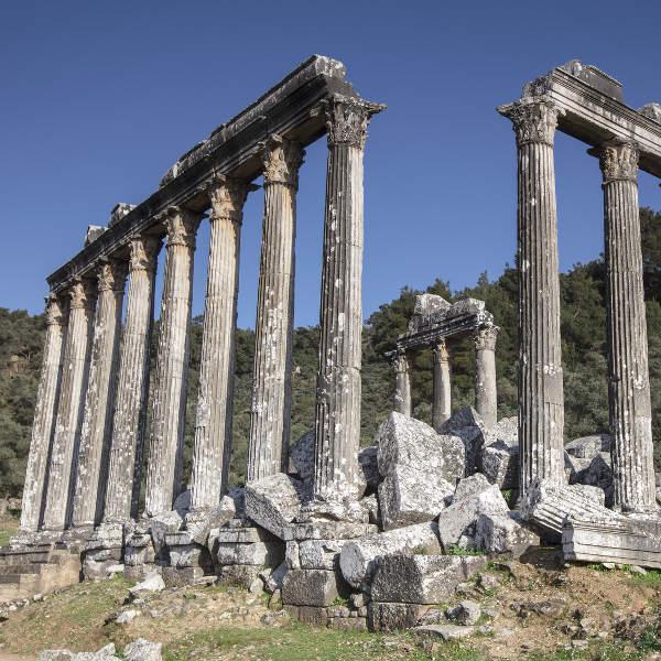 bodrum milas temple of zeus