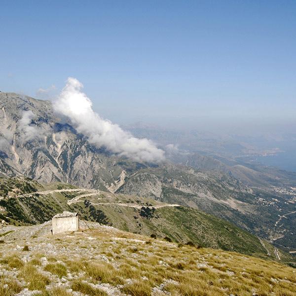 Llogara National Park near Vlorë