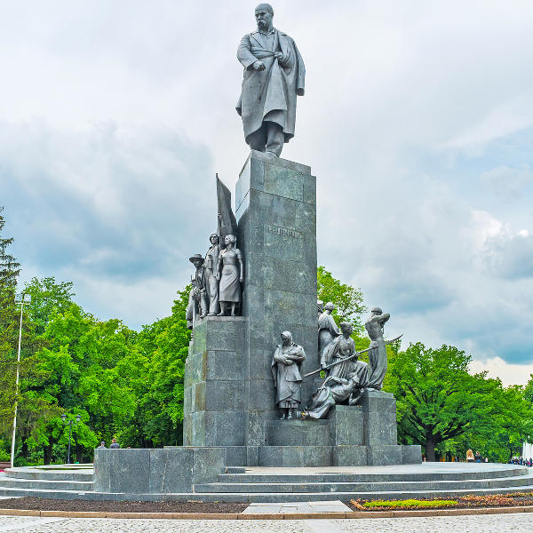 kharkov taras shevchenko monument