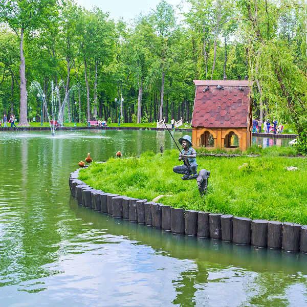 kharkov gardens and parks
