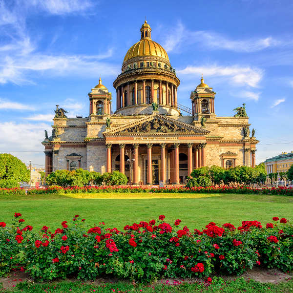 st. petersburg history and architecture