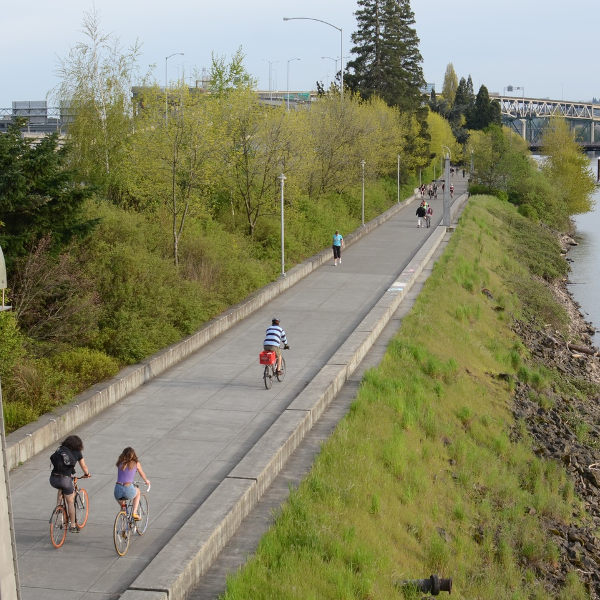 Cycling Trail Portland
