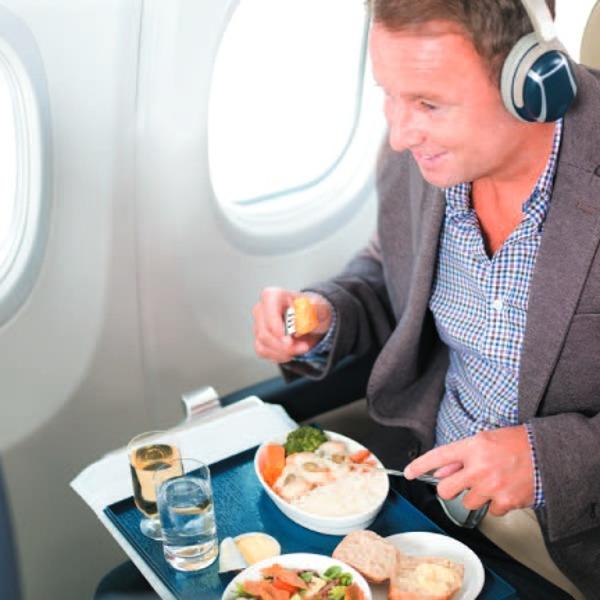 Flydubai onboard services