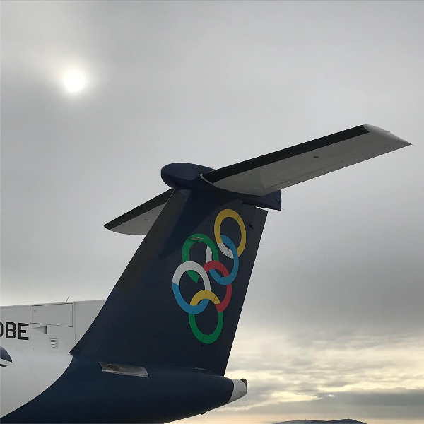 Olympic domestic flights