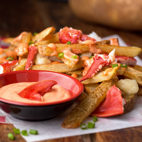 lobster chips sauce