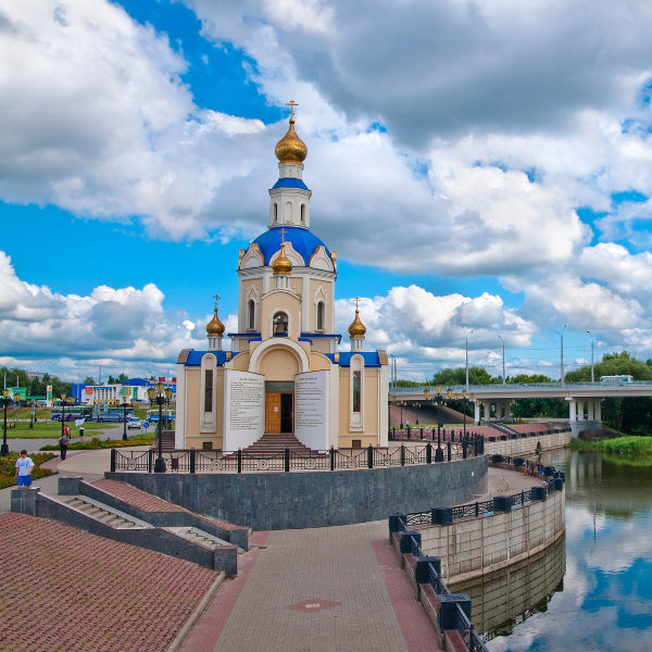 Cathedral in Belgorod
