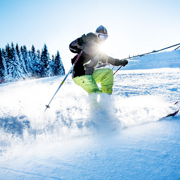 Skiing Bozeman