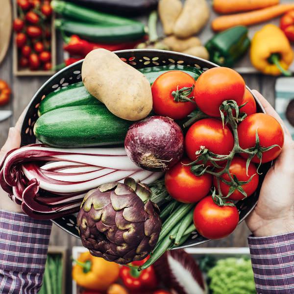 butternut tomatoes vegetables