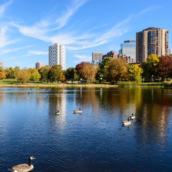 Loring Park Minneapolis