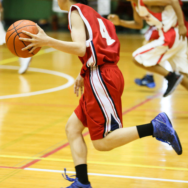 basketball action