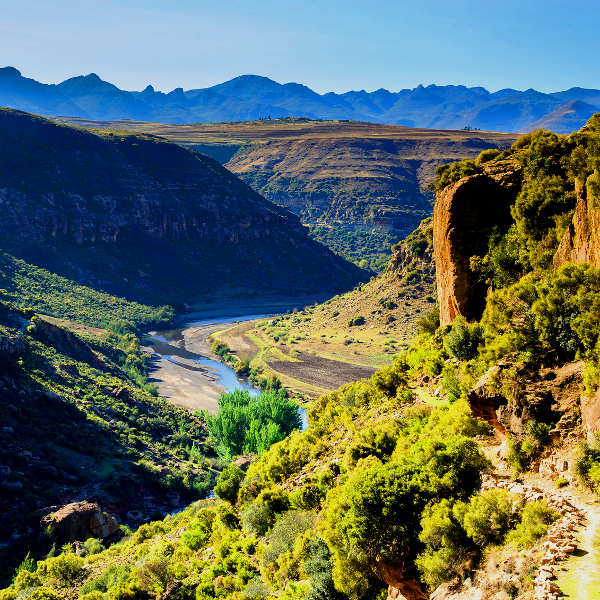 lesotho mountain kingdom