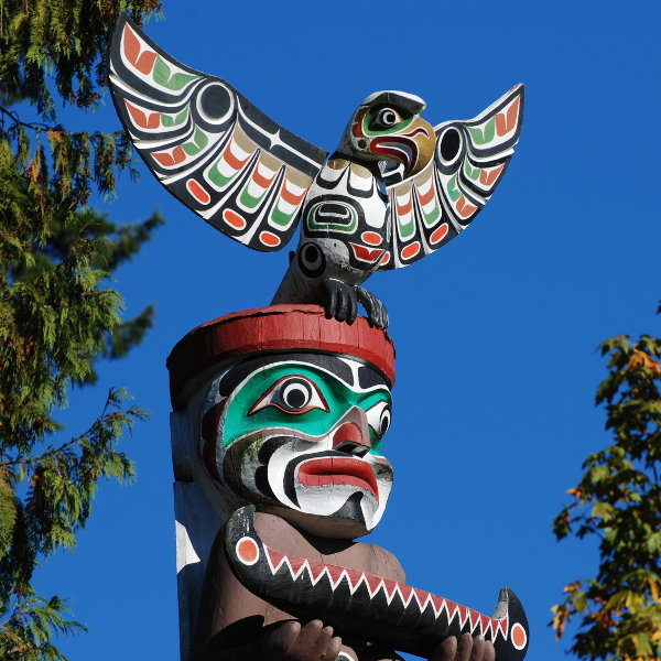 Totem Pole Art Canada