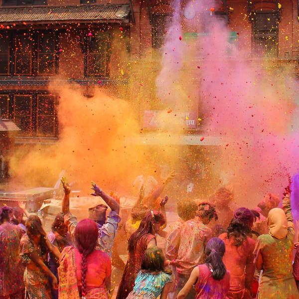 holi festival colour