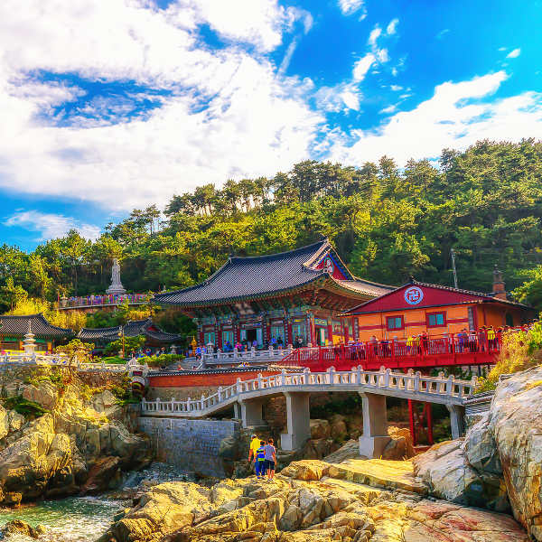 South Korea Temples and Palaces