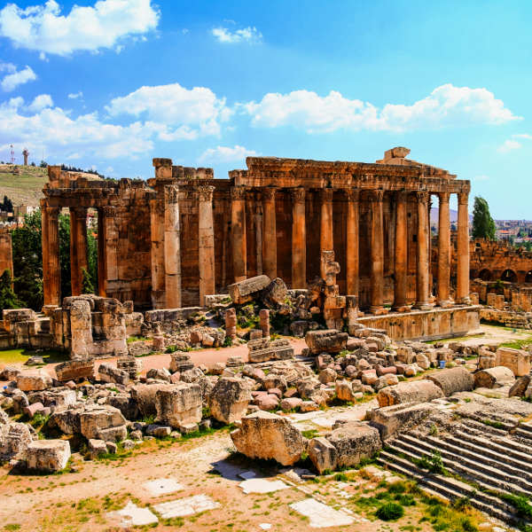 lebanon temples and ruins