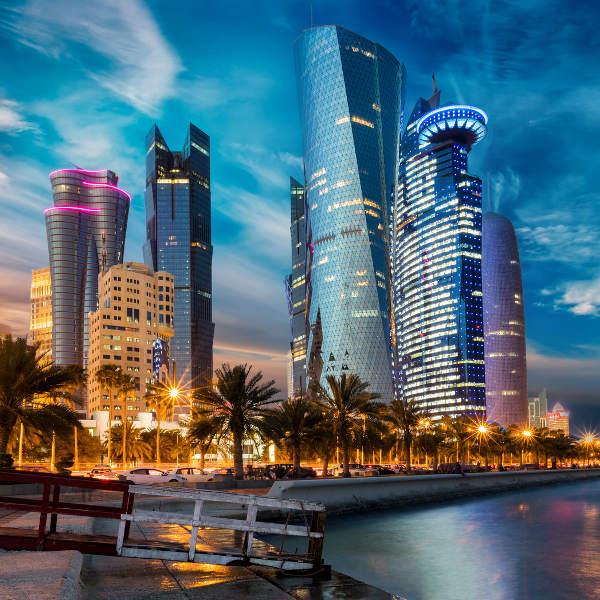 Qatar Futuristic Architecture