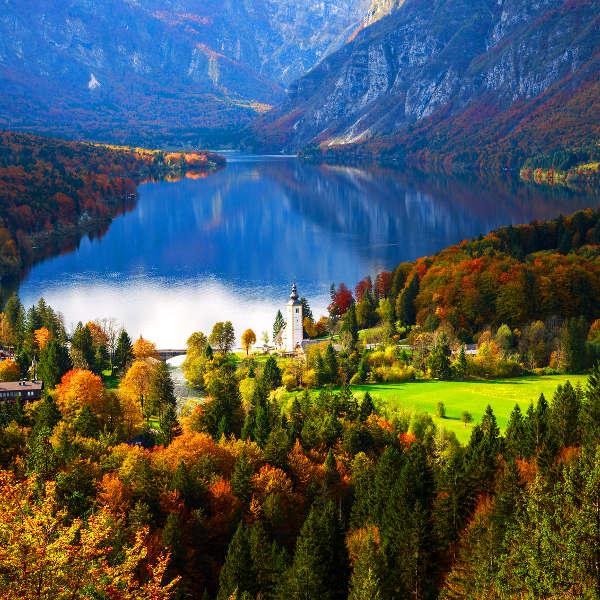 slovenia fairytale landscapes
