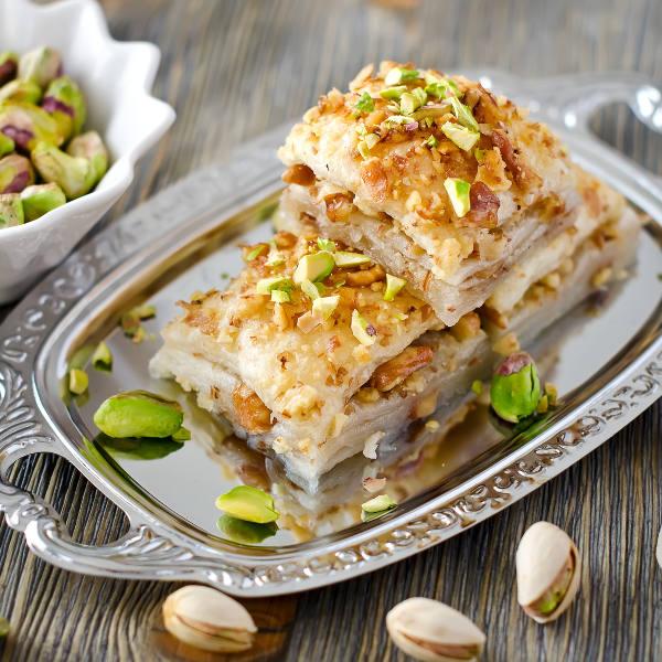 baklava pecan nuts