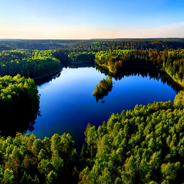 belarus forests and lakes