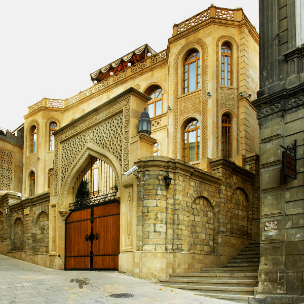 azerbaijan old city baku