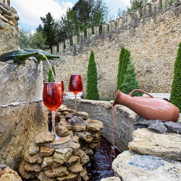 wine fountain