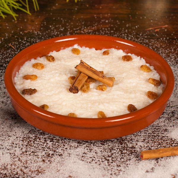 white dish rice