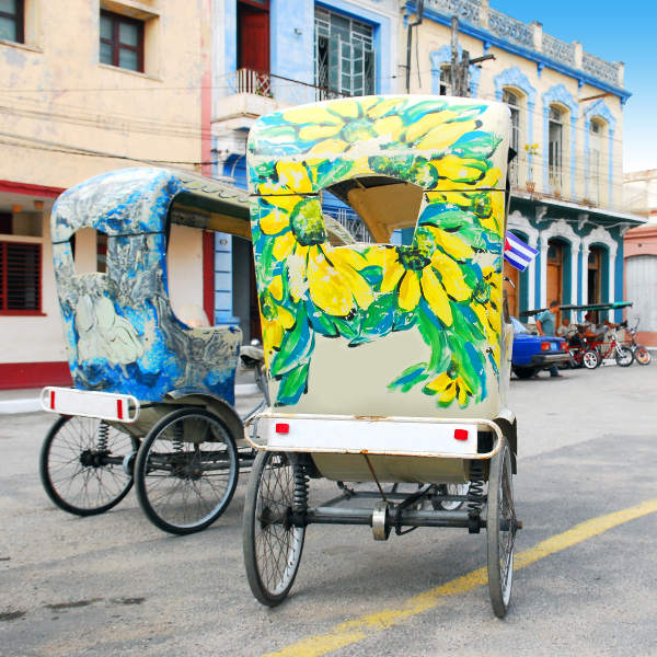bike taxi art