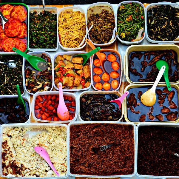 borneo tantalising food