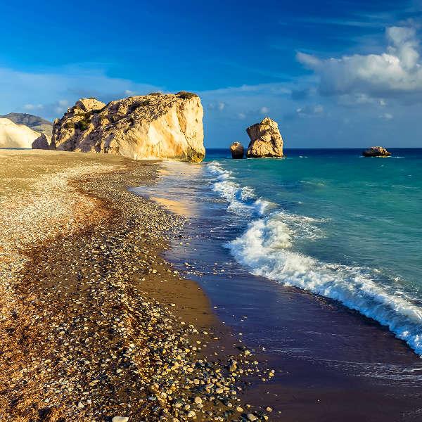 paphos mediterranean beaches