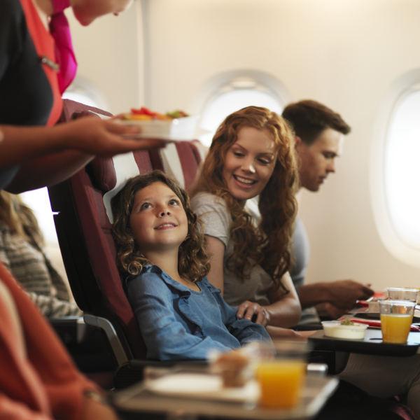 Qantas economy mealservice2