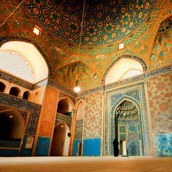 yazd persian architecture