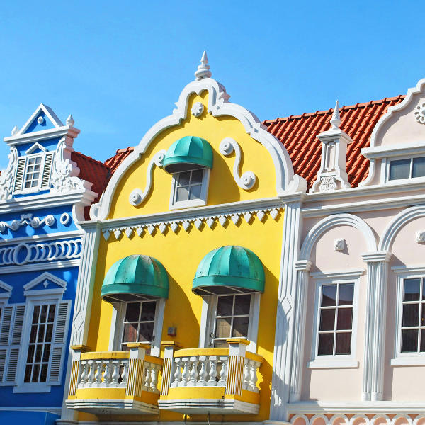 aruba unique architecture