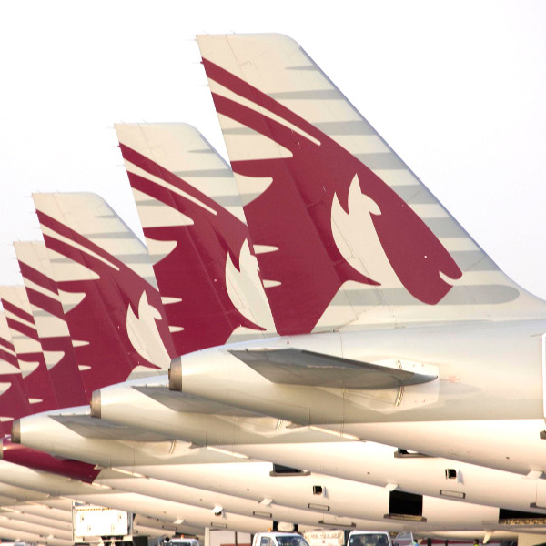 Qatar airways aircraft tailfins3000x2051