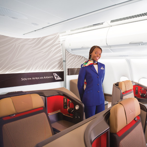 Africa Business Class: Cheap South African Airlines (SAA) Flights & Specials