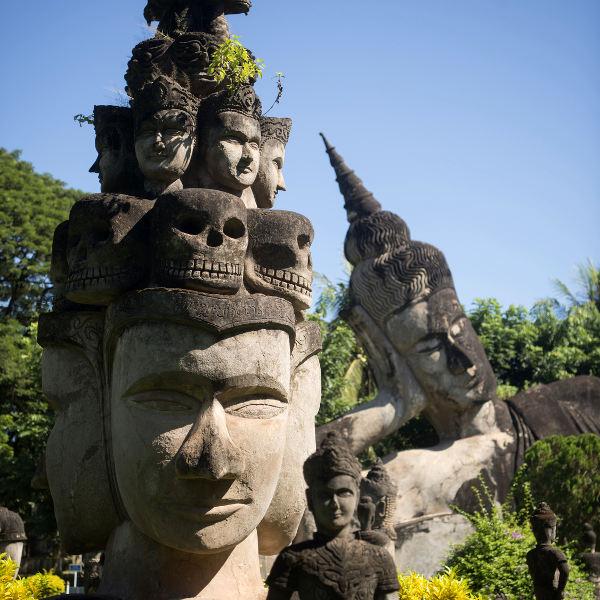 vientiane mystical buddha park